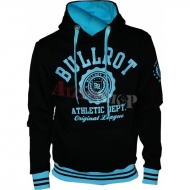 Bullrot Wear - Athletic Dept. Hoody schwarz/hellblau