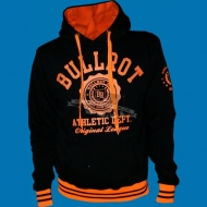 Bullrot Wear - Athletic Dept. Hoody schwarz/neonorange