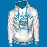 Bullrot Wear - Athletic Dept. Hoody wei�/hellblau