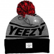 Cayler & Sons - Beanie C&S Yeezy Pom Pom navy/grey/red