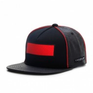 Cayler & Sons Black Label - Red Is Dead Snapback Cap dark grey/red