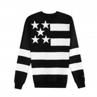 Cayler & Sons Black Label Super Stars Crewneck Long black/white (SALE)