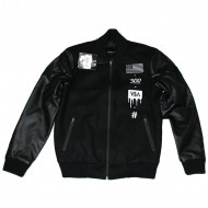 Cayler & Sons - Black Label V$A Varsity Jacket schwarz (SALE)