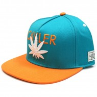 Cayler & Sons - Cayler Logo Snapback Cap teal/orange/white