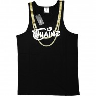 Cayler & Sons - Chainz Tank-Top black / white / gold (SALE)