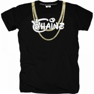 Cayler & Sons - Chainz Tee black / white / gold