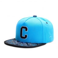 Cayler & Sons Gold Label - Cee Gaudi Snapback Cap turquoise/mc/navy