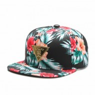Cayler & Sons Golden Label - Flowers Snapback Cap mc/gold