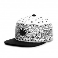 Cayler & Sons Green Label - Hazely Snapback Cap white/black/gold