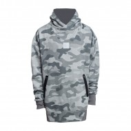 Cayler & Sons Hoodie Millennivm Loose Fit stone camo/reflective grey