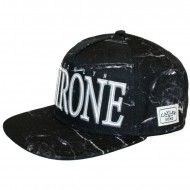 Cayler & Sons Snapback Cap Throne black marble/white/silver