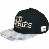Cayler & Sons - Snapback Cap Trohpies black/white marble/gold