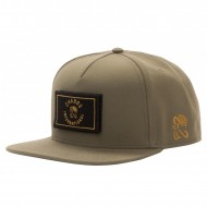 Chabos IIVII Snapback Core olive (zwei Patches dabei)