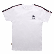 Chabos IIVII - Taped T-Shirt weiss