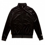 Chabos IIVII Track Jacket Core Velour black