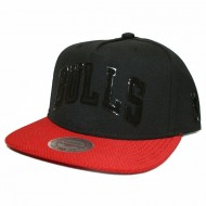 Chicago Bulls Snapback Hide | NBA | Mitchell & Ness