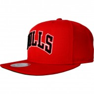 Chicago Bulls Snapback Wool Solid | NBA | Mitchell & Ness