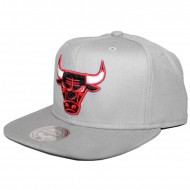 Chicago Bulls Snapback Wool Solid grey | NBA | Mitchell & Ness