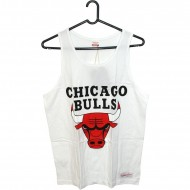Chicago Bulls Team Logo Tank weiss (SALE)