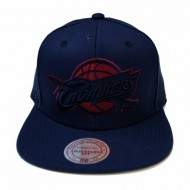 Cleveland Cavaliers Solid Team Siren Snapback | NBA | Mitchell & Ness