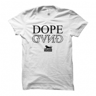 Cocaine Casino - Dope Gang U-Neck Shirt wei� (SALE)
