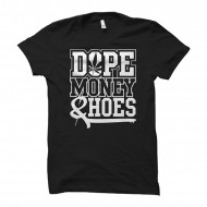 Cocaine Casino - Dope Money Hoes U-Neck Shirt schwarz
