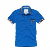 Cordon Polo Shirt Carlos blau