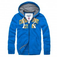 Cordon Zip Hoody Gaston Blau