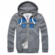 Cordon Zip Hoody Gaston Grau