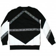 Criminal Damage Sweater Downtown Black (SALE)