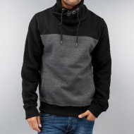 Dangerous DNGRS Big Block Hoody Black/Grey Melange