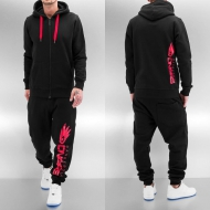 Dangerous DNGRS Classic Logo Sweat Suit Black
