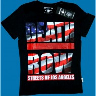Deathrow Shirt Flag schwarz