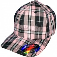 Flexfit Cap Plaid pink