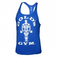 Golds Gym Stringer Tank Top Classic Royal Blue