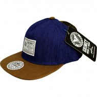 Grimey Disciples Strapback Brown / Navy