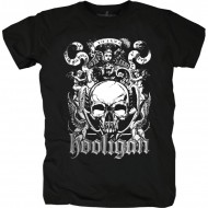 Hooligan T-Shirt Eterna schwarz