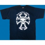 "Hooligan T-Shirt ""Templar"" navy"