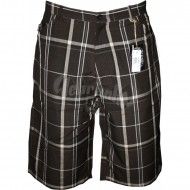 Joker Brand Plaid Short braun 36