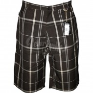 Joker Brand Plaid Short braun