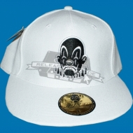 Joker Clown Pitching Cap weiss