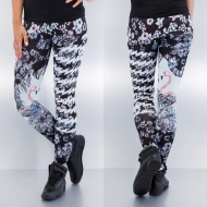 Just Rhyse Flamingo Leggings Black