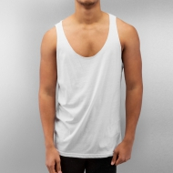 Just Rhyse Loose Tank Top White