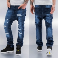 Just Rhyse Ole Antifit Jeans Blue