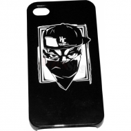 KC Rebell iPhone 4/4S Case schwarz