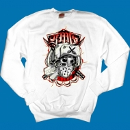 KMK - Hockey Mask Pullover wei�