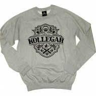 Kollegah Krone Sweater grau (SALE)