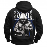 Kontra K - Loyal Fighter Hoodie schwarz