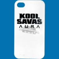 Kool Savas Aura iPhone 4/4S Case weiss