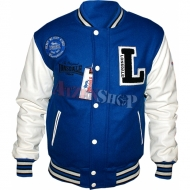 Lonsdale Baseball Jacket Oxford blau